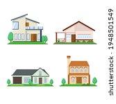 house collection. modern...   Shutterstock .eps vector #1948501549