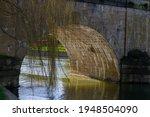 Arch Under The Bridge With Sun...