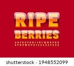 vector tasty emblem ripe...   Shutterstock .eps vector #1948552099