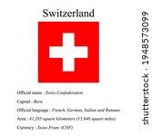 switzerland national flag ...   Shutterstock .eps vector #1948573099