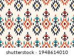 beautiful ethnic abstract ikat...   Shutterstock .eps vector #1948614010