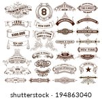 29 labels and banners. vector | Shutterstock .eps vector #194863040
