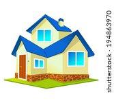 the house | Shutterstock .eps vector #194863970