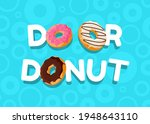 do or donut cartoon colorful... | Shutterstock .eps vector #1948643110