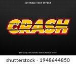crash text effect template...   Shutterstock .eps vector #1948644850