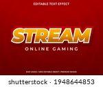 stream text effect template...   Shutterstock .eps vector #1948644853