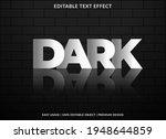 dark text effect template...   Shutterstock .eps vector #1948644859