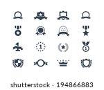 award icons | Shutterstock .eps vector #194866883
