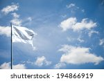 white flag | Shutterstock . vector #194866919