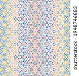 Seamless Mosaic Tile Pattern In ...