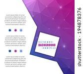 abstract creative concept... | Shutterstock .eps vector #194878376