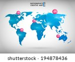 abstract creative concept... | Shutterstock .eps vector #194878436