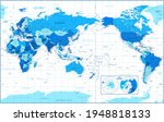 world map   pacific china asia... | Shutterstock .eps vector #1948818133