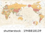 world map   pacific china asia... | Shutterstock .eps vector #1948818139