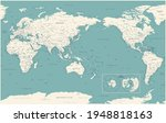 world map   pacific china asia... | Shutterstock .eps vector #1948818163