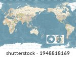 world map   pacific china asia... | Shutterstock .eps vector #1948818169