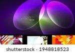 set of trendy futuristic...   Shutterstock .eps vector #1948818523
