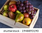 Fresh Assorted Fruits In A...