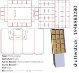 pos floor display with cube... | Shutterstock .eps vector #1948983280