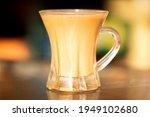 cup of hot milk tea  milk tea ...   Shutterstock . vector #1949102680