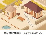 isometric vector of  korean... | Shutterstock .eps vector #1949110420