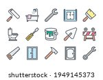 renovation and home repair... | Shutterstock .eps vector #1949145373
