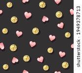 glitter confetti polka dot...   Shutterstock .eps vector #1949378713