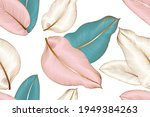vintage luxury seamless floral...   Shutterstock .eps vector #1949384263