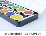 watercolor palette | Shutterstock . vector #194939504