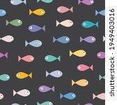 sea fish characters cartoon...   Shutterstock .eps vector #1949403016