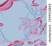 lemon seamless pattern. vector...   Shutterstock .eps vector #1949410843