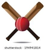 cricket icon eps 10 vector
