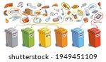 sort the garbage in correct...   Shutterstock .eps vector #1949451109