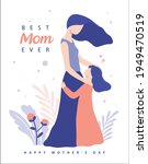 happy mother's day greeting... | Shutterstock .eps vector #1949470519