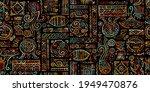 ethnic handmade ornament for... | Shutterstock .eps vector #1949470876