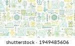 organic farm seamless pattern... | Shutterstock .eps vector #1949485606