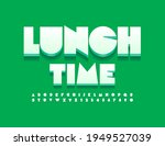 vector original emblem lunch...   Shutterstock .eps vector #1949527039