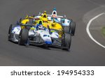 Small photo of Indianapolis, IN - May 25, 2014: Indy driver, Jaques Lazier (21), runs the 98th annual Indianapolis 500 at the Indianapolis Motor Speedway in Indianapolis, IN.