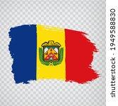 flag parish ordino of andorra...