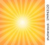 sun sunburst pattern | Shutterstock . vector #194963120