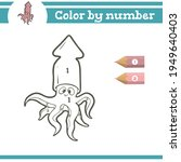 colmar color by numbers.... | Shutterstock .eps vector #1949640403
