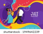 live music band playing on... | Shutterstock .eps vector #1949642239