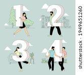 flat design vector figure... | Shutterstock .eps vector #1949651260