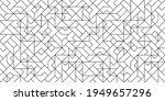 black and white art deco... | Shutterstock . vector #1949657296