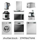 3d kitchen appliance. realistic ...   Shutterstock .eps vector #1949667646