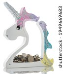 Transparent Unicorn Coin Box....