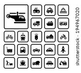 vector basic icon for transport  | Shutterstock .eps vector #194967020
