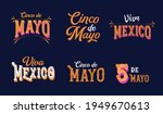 cinco de mayo  viva mexico  ... | Shutterstock .eps vector #1949670613