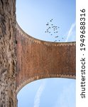 Vertical Old Railway Arch...