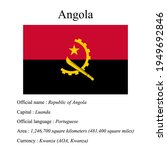 angola national flag  country's ...   Shutterstock .eps vector #1949692846